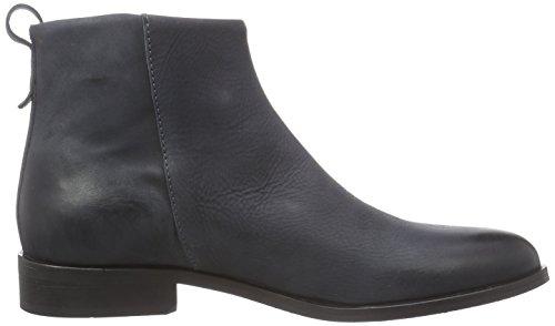 Shoot SH215009C - botas de cuero mujer gris - gris