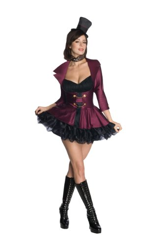 Secret Wishes Sexy Willy Wonka Costume, Black/Purple, -