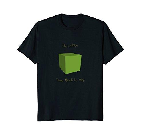 Weird surreal cube meme art T-shirt
