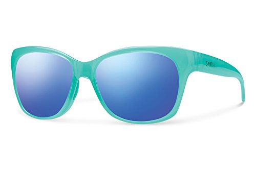 Smith Optics Feature Sunglasses, Opal, Blue Flash - Features Sunglasses