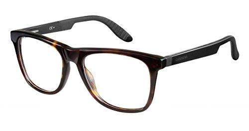 Carrera 4400 Eyeglass Frames CA4400-0TRD-5318 - Dark Havana Black Frame, Lens Diameter 53mm,