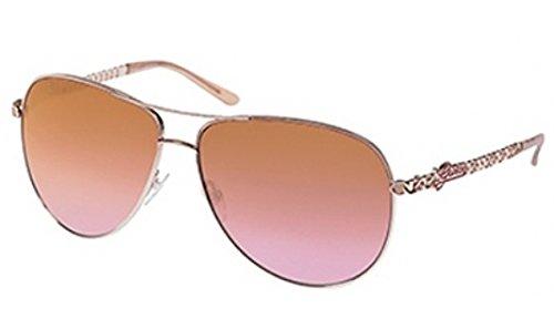 GUESS GU 7032 - Gafas de Sol (Oro Rosa, 63-13-130): Amazon ...