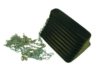 NMC-WCR2C-WHEEL-CHOCK-RUBBER-W12-FT-CHAIN-ATTACHED