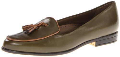 Trotters Leana Ladies Verde Slim Slipper Scarpe Nuove / Display Eu 36