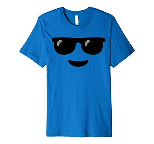 Smiley Face sunglasses Emoji cool sunglasses face Emoticon Premium ()