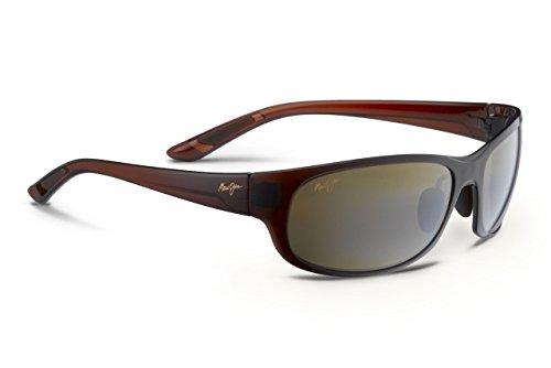 Maui Jim Twin Falls Polarized Sunglasses Rootbeer Fade / HCL Bronze One - Falls Jim Twin Maui