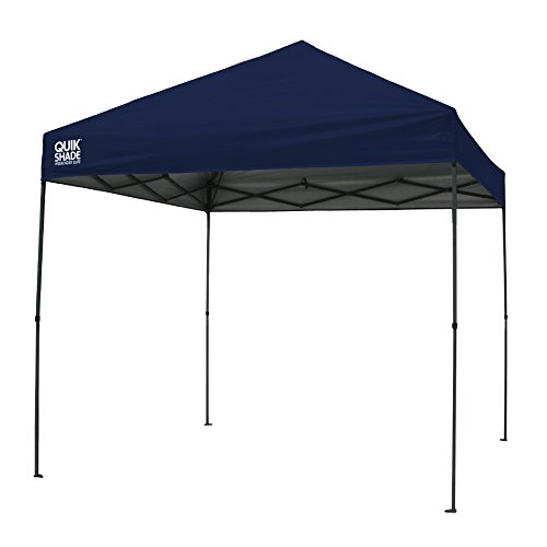 9' Blue Canopy Tent - Quik Shade Weekender Elite WE100 10'x10' Instant Canopy - Navy Blue