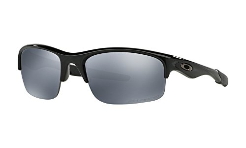 Oakley Bottle Rocket Sunglasses Polished Black / Black Iridium Polarized & Carekit - Rocket Bottle Oakley