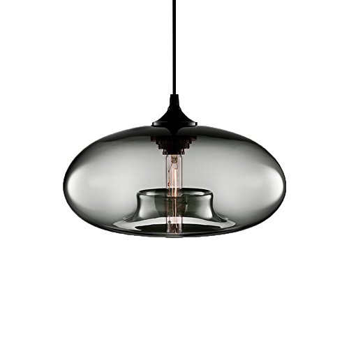 Blown Glass Pendant Lighting For Kitchen - 3