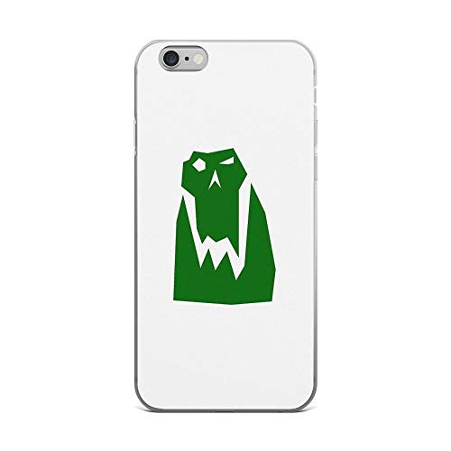 iPhone 6 Plus/iPhone 6s Plus Case Clear Anti-Scratch Orc Head (Green), orc Cover Phone Cases for iPhone 6 Plus iPhone 6s Plus ()