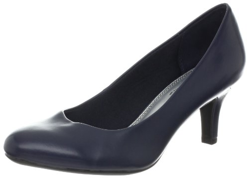 LifeStride Women's Parigi Dress Pump, Cruise Navy, 7.5 W US