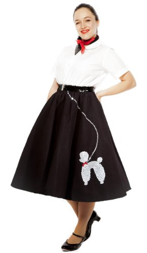 Poodle Skirt - Plus / XL Size - Black ()
