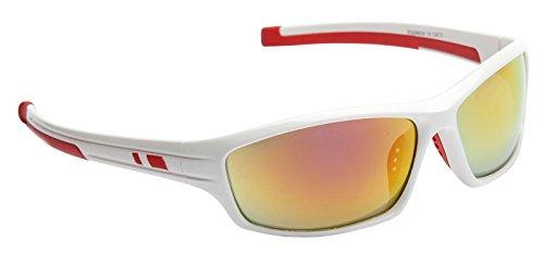 Rouge nbsp;UV400 de Lunettes Blanc Equinox Cat Miroir nbsp;Verres Sports 3 incassables soleil zfqXwRBw