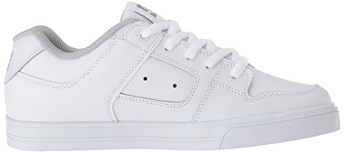 Pictures of DC Pure Elastic Skate Shoe White 5 M US Big Kid ADBS300385 3