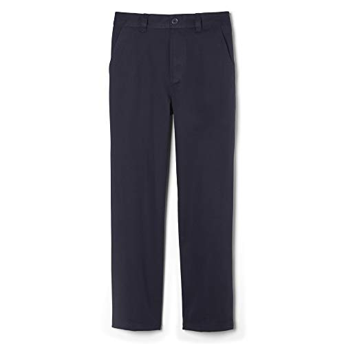 French Toast Little Boys' Pull On Pant, Navy, 7 (Boys Dress Twill Pant)