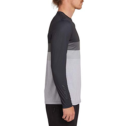 Volcom Men's Lido Heather Block Long Sleeve Rashguard