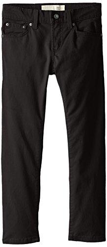 Pants Brushed Twill - Levi's Boys' Big 511 Slim Fit Soft Brushed Pants, Black 12
