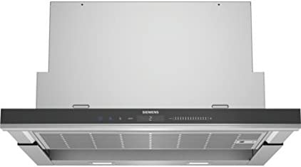 Siemens LI69SA683 - Campana (930 m³/h, Canalizado/Recirculación, A, A, B, 70 dB)