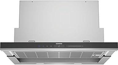 Siemens LI69SA683 - Campana (930 m³/h, Canalizado/Recirculación, A, A, B, 70 dB): 487.41: Amazon.es: Grandes electrodomésticos