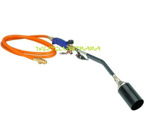 Propane Torch Wand Ice Snow Melter Weed Burner Roofing Push Button Igniter