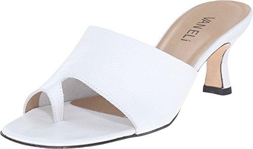 Vaneli Donne Melea Vestito Sandalo Bianco Vitello Seta