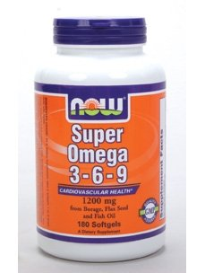 Now Foods Omega 3-6-9 1200mg