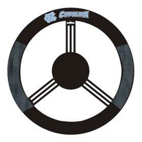 NCAA North Carolina Tar Heels Poly-Suede Steering Wheel Cover