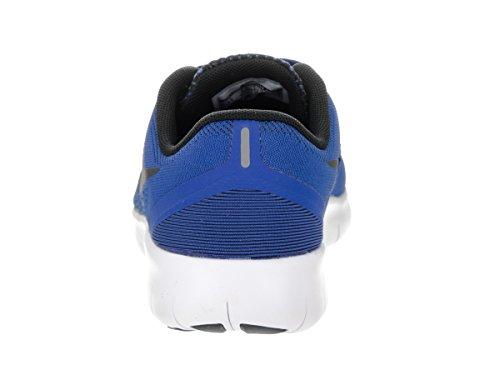 Nike RN Gratis Para Niños (Grande) azul rey/negro/blanco (GAME ROYAL/BLACK-WHITE)
