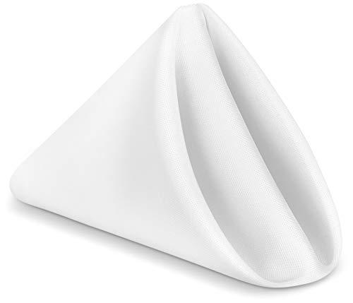 - Utopia Home Restaurant Cloth Napkins 17 x 17 Inch - White - (Pack of 24)