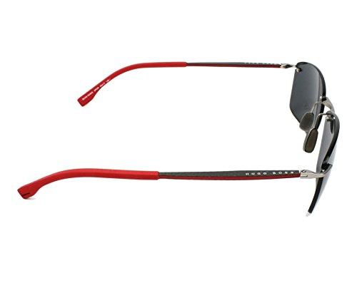 s Rectangular Mm Grey Boss 60 0939 Men's Hugo Sunglasses By nCHq4
