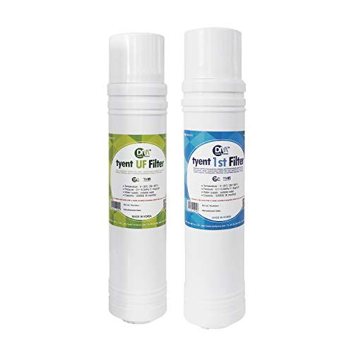 Tyent Ultra Filter Set: UCE (fits 9 or 11 plate under counter water ionizers)
