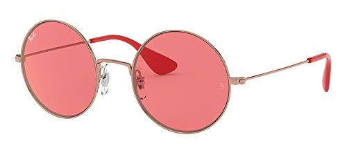 Ray-Ban RB3592 JA-JO 9035C8 55M Shiny Copper/Pink Mirror Red Sunglasses For ()