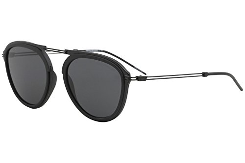 Emporio Armani sunglasses (EA-2056 300187) Matt Black - Grey - Sunglasses Armani Emporio