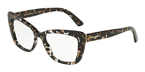 Dolce&Gabbana DG3308 Eyeglass Frames 911-53 - Cube Black/gold DG3308-911-53