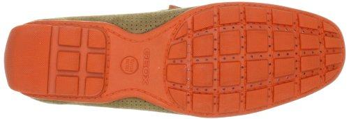 Geox Uomo Monet U2244N00022C0616 - Mocasines de ante para hombre, color marrón, talla 40