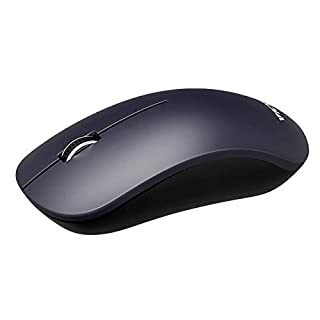 VicTsing 3200DPI Wired Mouse, Optical USB Mouse with 15m Cord, Computer Mouse with 4 Adjustable DPI Level- Improve 50% Work Efficiency, Ergonomic Mouse for Laptop PC, Mac, Desktop and Laptop-Blue