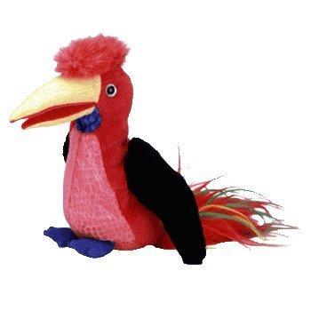(TY Beanie Baby - FRILLS the Hornbill Bird )