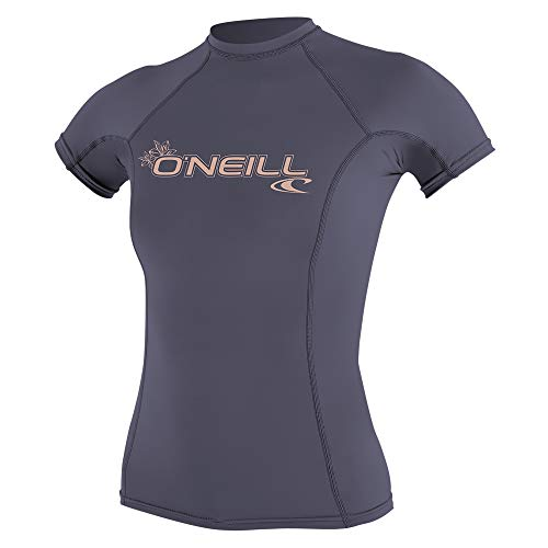 O'Neill Women's Basic Skins UPF 50+ Short Sleeve Rash Guard