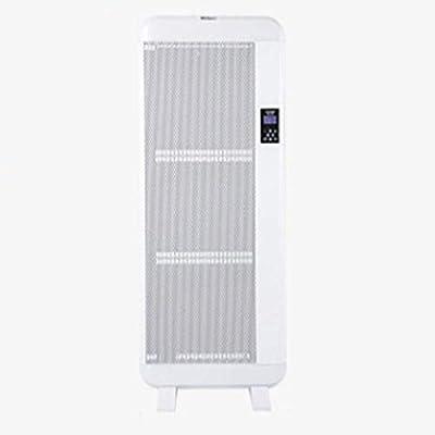 ZZHF Calentador, baño en casa con calentador infrarrojo lejano vertical, calentador eléctrico montado en la pared calefacción por aire caliente estufa ...