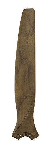 Fanimation B6720DF Spitfire Blade: 30 inch Carved Wood, Driftwood - (Spitfire Accessory)
