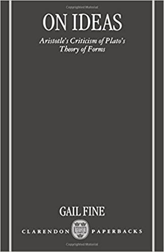 an analysis of the refutation of aristotle about plato s theory of ideas David macintosh explains plato's theory of forms or ideas if we can place this theory into its some pre-socratic ideas of change and permanence aristotle.