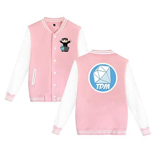 51c8b88ec91eb Marcus Roberta Unisex Dan-TDM Baseball Jacket Uniform Bangtan Boys Suga Jin  Jimin Jung Kook