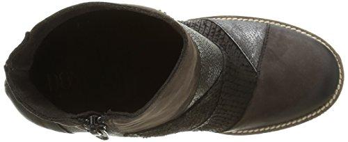 Donna Piu 9880 Jasmine, Stivali Donna Nero (Noir (Patch Nabuk Africa))