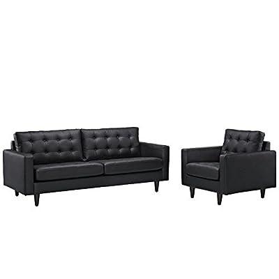 LexMod Empress Armchair and Sofa