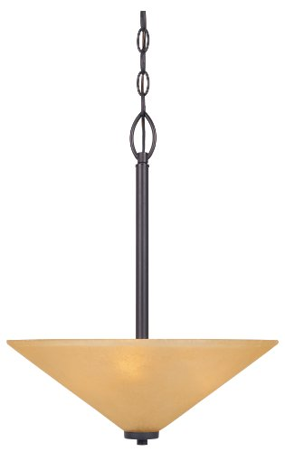 Designers Fountain 83531-ORB Arcadia Inverted Pendant, Oil Rubbed ()