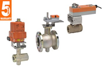 Belimo | B350L+ARB24-3-S | Ball Valve | 2'' | 3 Way | 87 Cv | w/ Non-Spg | 24V | Floating | SW by Belimo