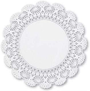 8 inch Cambridge Paper Lace Doilies (Pack of 100) ()