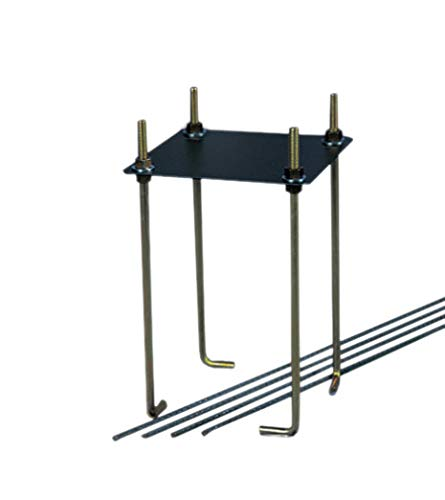 "Goalrilla 9"" Basketball Anchor System Installs In-Ground and Allows Goalrilla Hoop to Move with You"