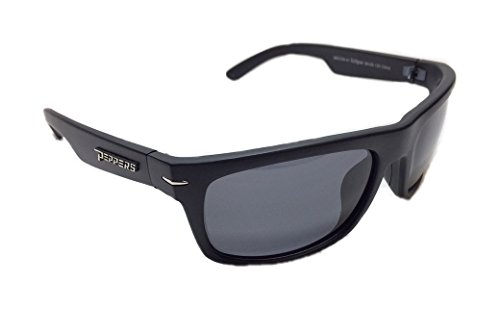 Peppers MP5709-41 Eclipse Polarized Sunglasses, Matte Black/Smoke, - The Eclipse Sunglasses