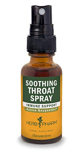 (Herb Pharm Soothing Throat Spray Herbal Formula with Echinacea and Propolis - 1 Ounce)